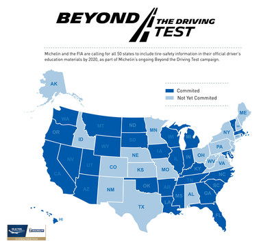 Michelin's 'Beyond the Driving Test' Drives Change in 31 States