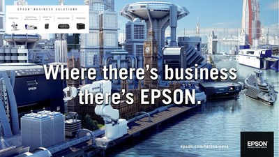 Epson launches Cityscape campaign, showcasing innovative business solutions