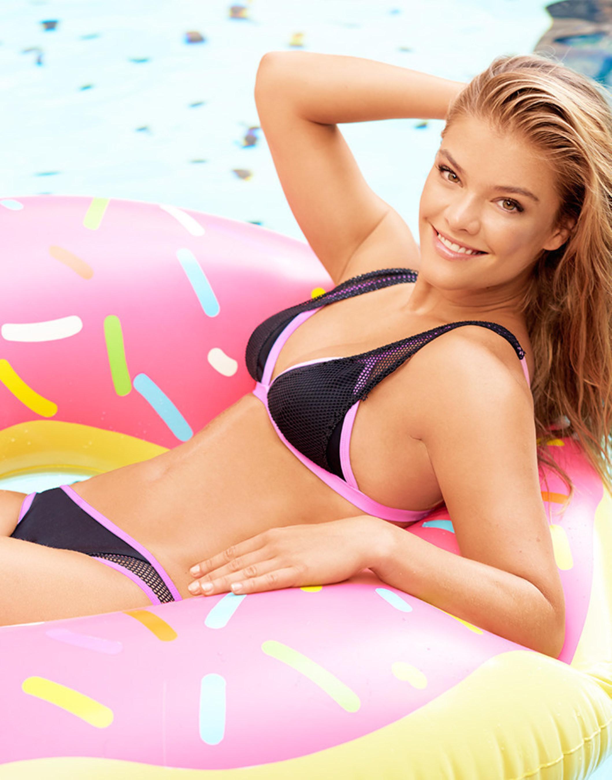 Nina Agdal Headlines Adore Me's 2016 Swimwear Campaign