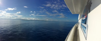The Cuban Coast from the Deck of the M/V Spree