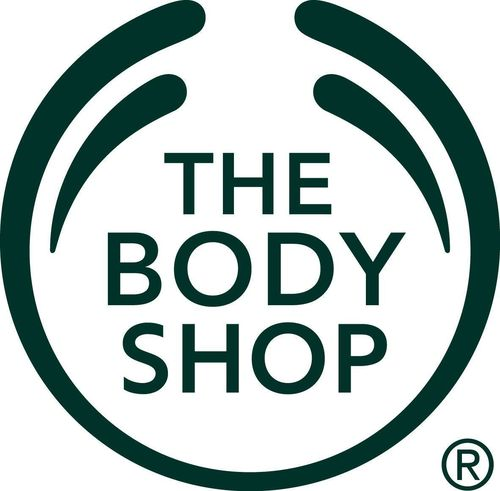 The Body Shop logo.