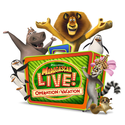 "SeaWorld Parks & Entertainment will premiere ""Madagascar Live! Operation: Vacation"" -- an original live musical show featuring the beloved Madagascar characters -- at two of the company's parks in 2013. The musical show follows the antics of the famous characters during a vacation adventure and features rock/pop music with a live band.  The new show ""Madagascar Live! Operation: Vacation"" premieres at Busch Gardens Tampa May 18, 2013 and at SeaWorld San Diego June 15, 2013. SeaWorld Parks & Entertainment. Orlando, Fla.  (PRNewsFoto/SeaWorld Parks & Entertainment)"
