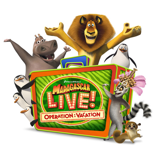"SeaWorld Parks & Entertainment will premiere ""Madagascar Live! Operation: Vacation"" -- an original live musical show featuring the beloved Madagascar characters -- at two of the company's parks in 2013. The musical show follows the antics of the famous characters during a vacation adventure and features rock/pop music with a live band.  The new show ""Madagascar Live! Operation: Vacation"" premieres at Busch Gardens Tampa May 18, 2013 and at SeaWorld San Diego June 15, 2013. SeaWorld Parks & Entertainment. Orlando, Fla.  ..."