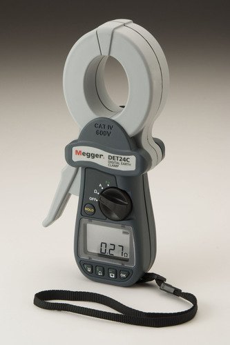 Two New Clamp-on Resistance Testers from Megger Help Prevent a Rise in Voltage in Earth/Ground Systems.  ...