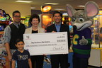Chuck E. Cheese's donates $100,000 to Big Brothers Big Sisters of America
