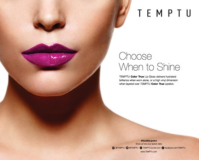 TEMPTU Color True Lip Gloss adds high performance shine to any lip worn alone or over lipstick.