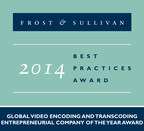 Imagine Communications receives the 2014 Global Video Encoding and Transcoding Entrepreneurial Company of the Year Award