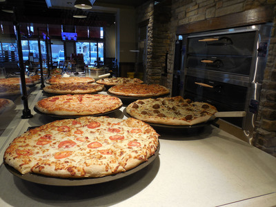 PIZZA HUT UNVEILS NEXT GENERATION RESTAURANT FORMATS.  (PRNewsFoto/Pizza Hut)
