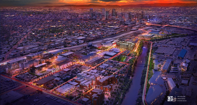RiNo Denver image shows what the area is envisioned to look like in 2020. OZ Architecture worked with a variety of designers and developers to compile the integrated rendering.