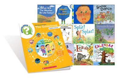 Knowledge Quest!(TM) Read-Aloud Collections.  (PRNewsFoto/Scholastic)
