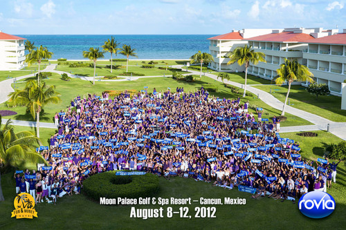 "Nearly 3,000 of Rovia's ""DreamTrippers"" headed to one of Mexico's premiere resorts as part of ..."