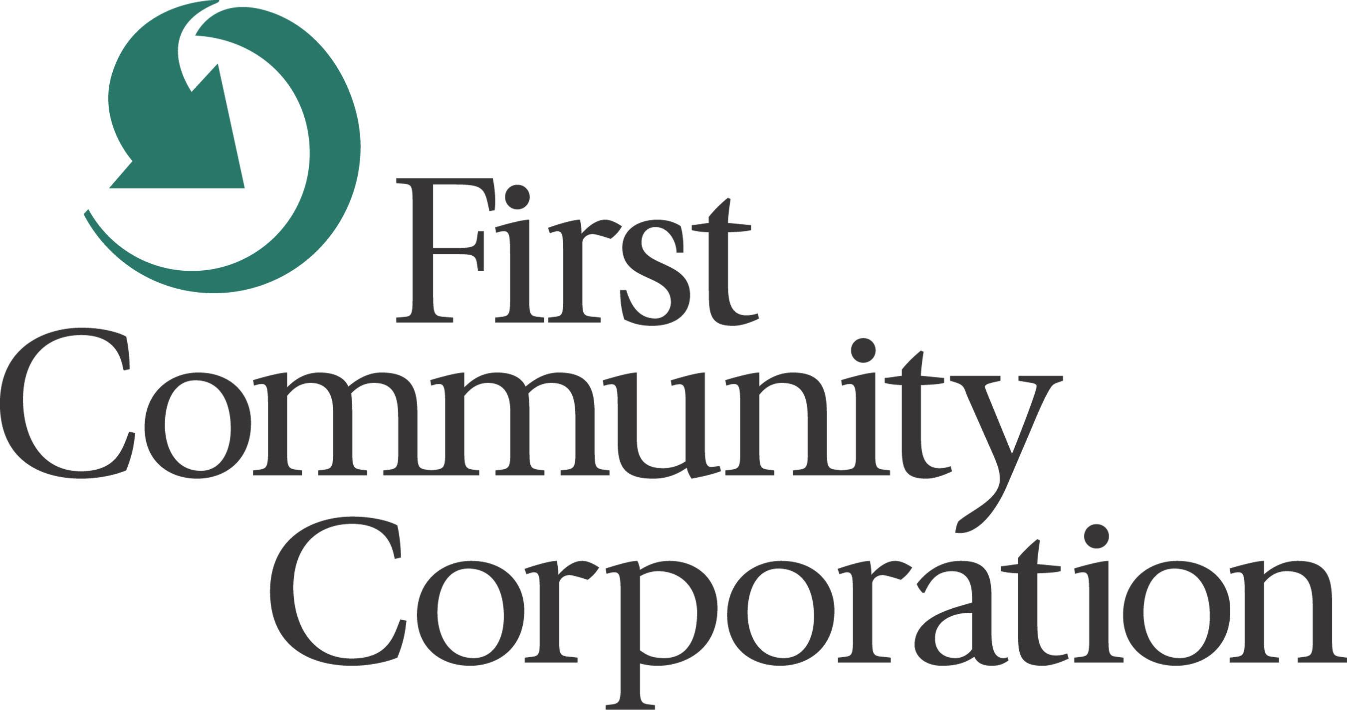 First Community Corporation logo.