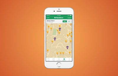 Nextdoor releases the Treat Map this Halloween to help you find the best streets for treats in your community. Available on Web, iOS, and Android.