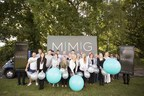 The team celebrate the launch of MMG, advertising and events organisation. (PRNewsFoto/MMedia Group Ltd)