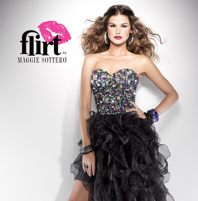 Flirt by Maggie Sottero. See more of our prom dresses at www.flirtprom.com! (PRNewsFoto/Maggie Sottero) (PRNewsFoto/MAGGIE SOTTERO)