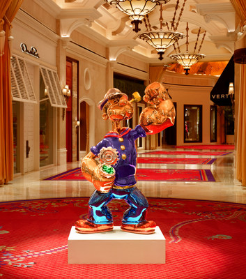 Wynn Las Vegas Welcomes 'Popeye' by Renowned Artist Jeff Koons (PRNewsFoto/Wynn Las Vegas)