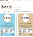 Wolfgang Puck Coffee introducing new line of solubles under the brand name Barista Select™