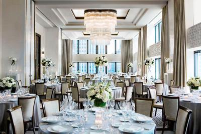 Devonshire Ballroom at The Langham, Chicago.  (PRNewsFoto/Langham Hospitality Group)