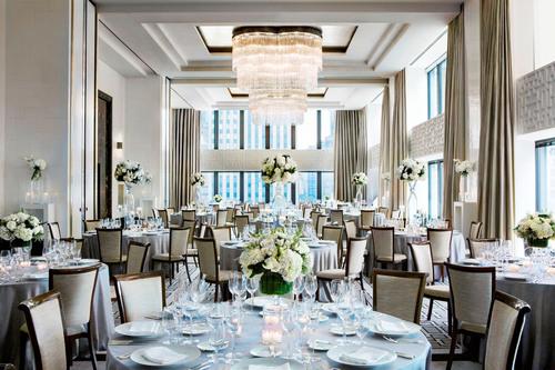 Devonshire Ballroom at The Langham, Chicago. (PRNewsFoto/Langham Hospitality Group) (PRNewsFoto/LANGHAM ...