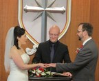 Love Is in the Air--Valentine's Day Wedding at the London Church of Scientology
