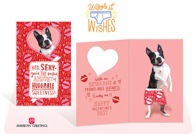 New Wiggle It Wishes(TM) Cards from American Greetings are the Perfect Fit for Valentine's Day