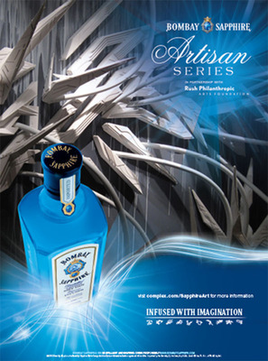 BOMBAY SAPPHIRE® Gin, Rush Philanthropic Arts Foundation, And Complex Media Call Upon Artists Nationwide To Enter The 3rd Annual BOMBAY SAPPHIRE Artisan Series