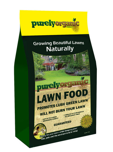 Purely Organic Products Lawn Food And Entire Product Line Is Chemical Free So