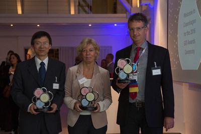 2016 Grant for Oncology Innovation award winners (PRNewsFoto/Merck KGaA, Darmstadt, Germany)