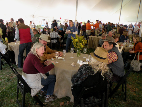 TerraVITA Food & Wine Event Grand Tasting on the Green is in Southern Village in Chapel Hill, NC on Saturday, ...