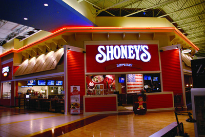 First-of-its-kind Shoney's Featuring Cooked-to-Order Entrees, Seasonal Buffets, Shoney's On The Go(R) and Full Liquor Service On Tap at Sugarloaf Mills; Grand Opening Scheduled for January 16, 2014. (PRNewsFoto/Shoney's) (PRNewsFoto/SHONEY'S)