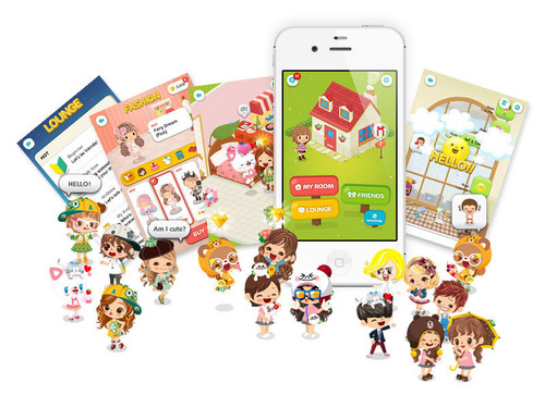 LINE Adds New Dimension to its Messaging Platform with LINE Play.  (PRNewsFoto/LINE)
