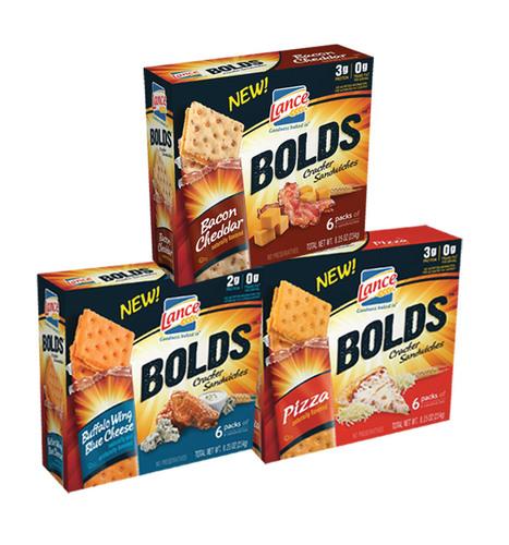 LANCE(R) BOLDS(TM) cracker sandwiches. (PRNewsFoto/Lance) (PRNewsFoto/LANCE)
