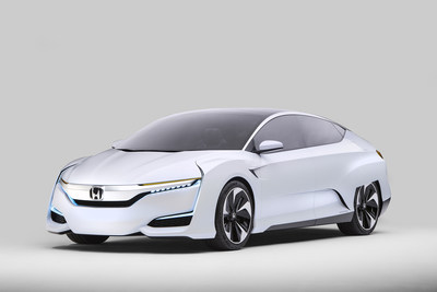 Honda to Launch Next Generation Advanced Powertrain Vehicles by 2018, Honda FCV Concept Makes North American Debut
