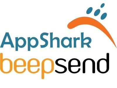 AppShark and Beepsend (PRNewsFoto/AppShark and Beepsend) (PRNewsFoto/AppShark and Beepsend)