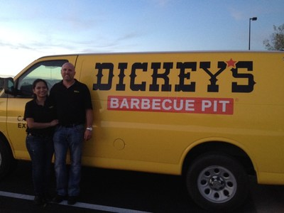 The New Mexico border gets a tasty part of the lone star state when Dickey's Barbecue opens in Hobbs Thursday.