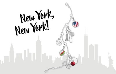 New York, New York! THOMAS SABO presents a special Charm Club edition inspired by the city that never sleeps. #thomassabo (PRNewsFoto/THOMAS SABO GmbH & CO.KG)