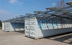 PRNewswire, London, 29 November. LAUSANNE, Switzerland - Algerian sales contract signed for SwissINSO's Krystall (tm) 100% solar-powered water purification unit.  (PRNewsFoto/SwissINSO Holding Inc.)