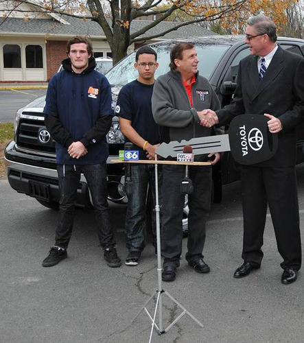 Albany C.U.R.E. Keeps On Truckin' -- Toyota donation will be used to deliver food