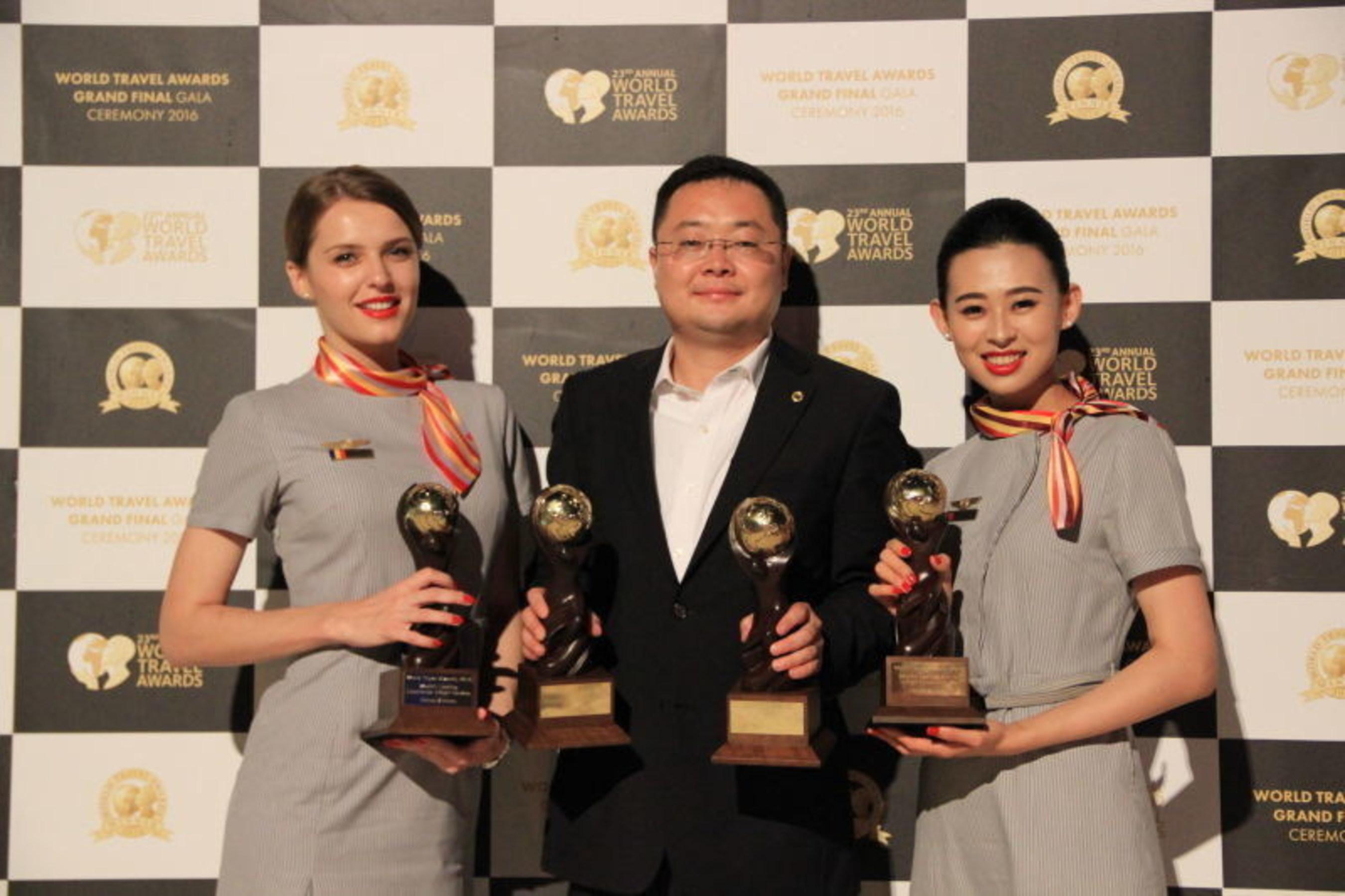 Hainan Airlines wins WTA awards