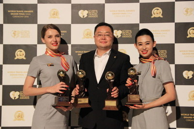Hainan Airlines wins WTA awards