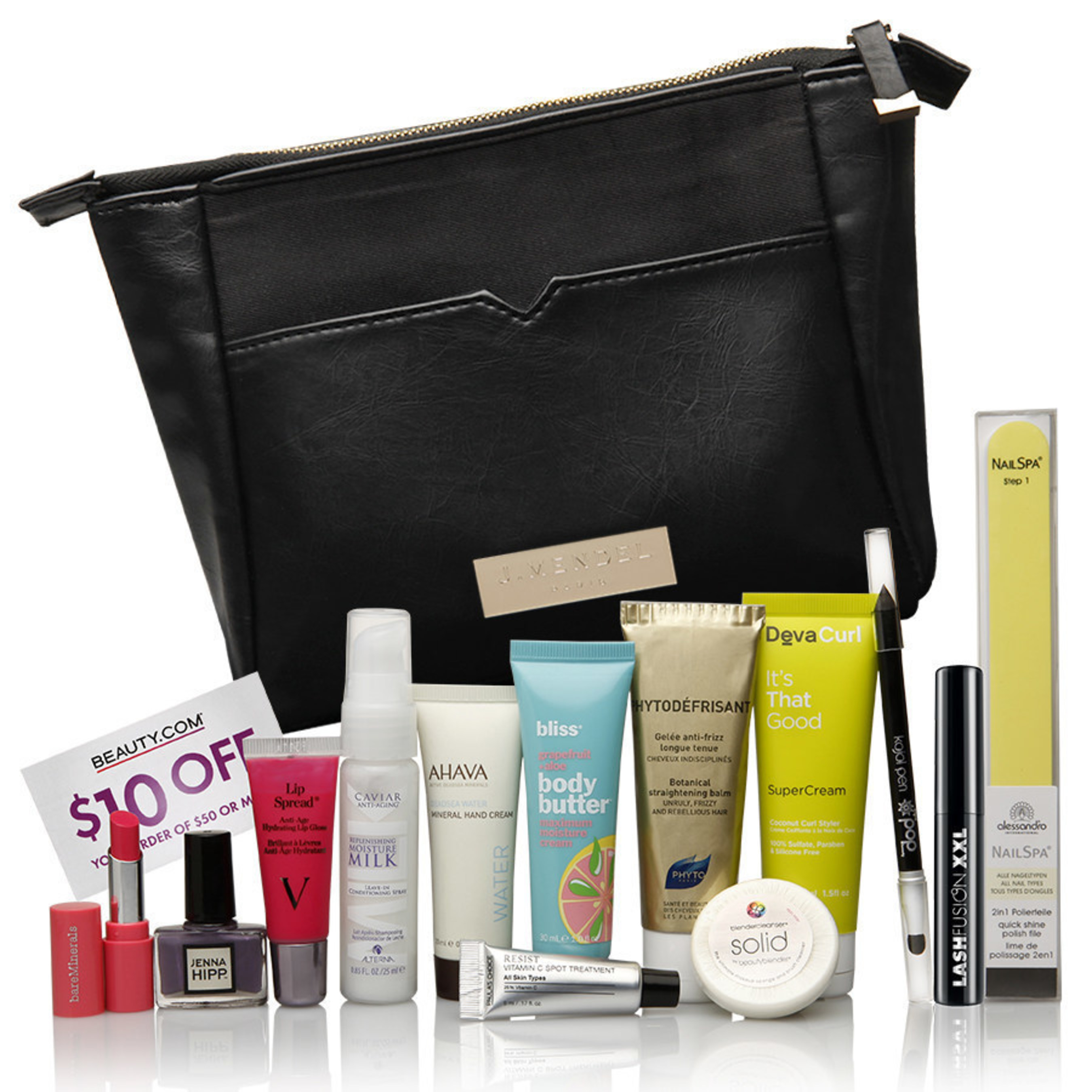 Beauty.com Debuts the J. Mendel 'Matin' Vanity Pouch
