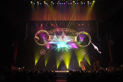 MGM Resort International's Beau Rivage in Biloxi presents the theatrical circus sensation BraVeau, June 7-August 7
