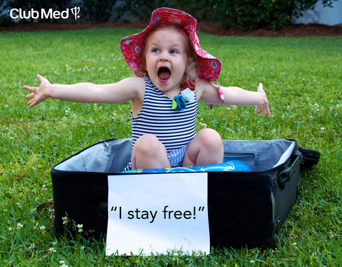 Kids everywhere are shouting for joy as they stay, play and eat for free at three of Club Med's premium family resorts this summer. To book this deal, visit www.clubmed.us during the five-day only flash sale April 5-9, 2012.  (PRNewsFoto/Club Med)
