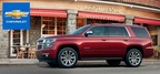 The 2015 versions of the Chevy Suburban and Chevy Tahoe are two of the most capable and comfortable to drive SUVs on the market today. (PRNewsFoto/Chevrolet of Naperville)