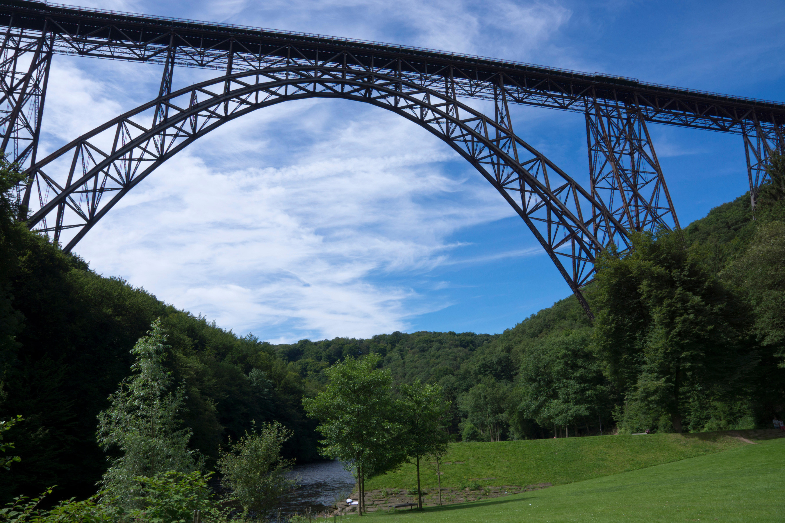 The Mungsten Bridge, highest steel rail bridge in Germany, was renovated using MM1018, now available in the US exclusively from Stronghold Coating Systems, Franklin, OH