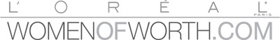 Women of Worth logo.  (PRNewsFoto/L'Oreal Paris)