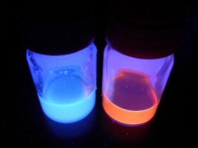 Quantum Dots under UV Light