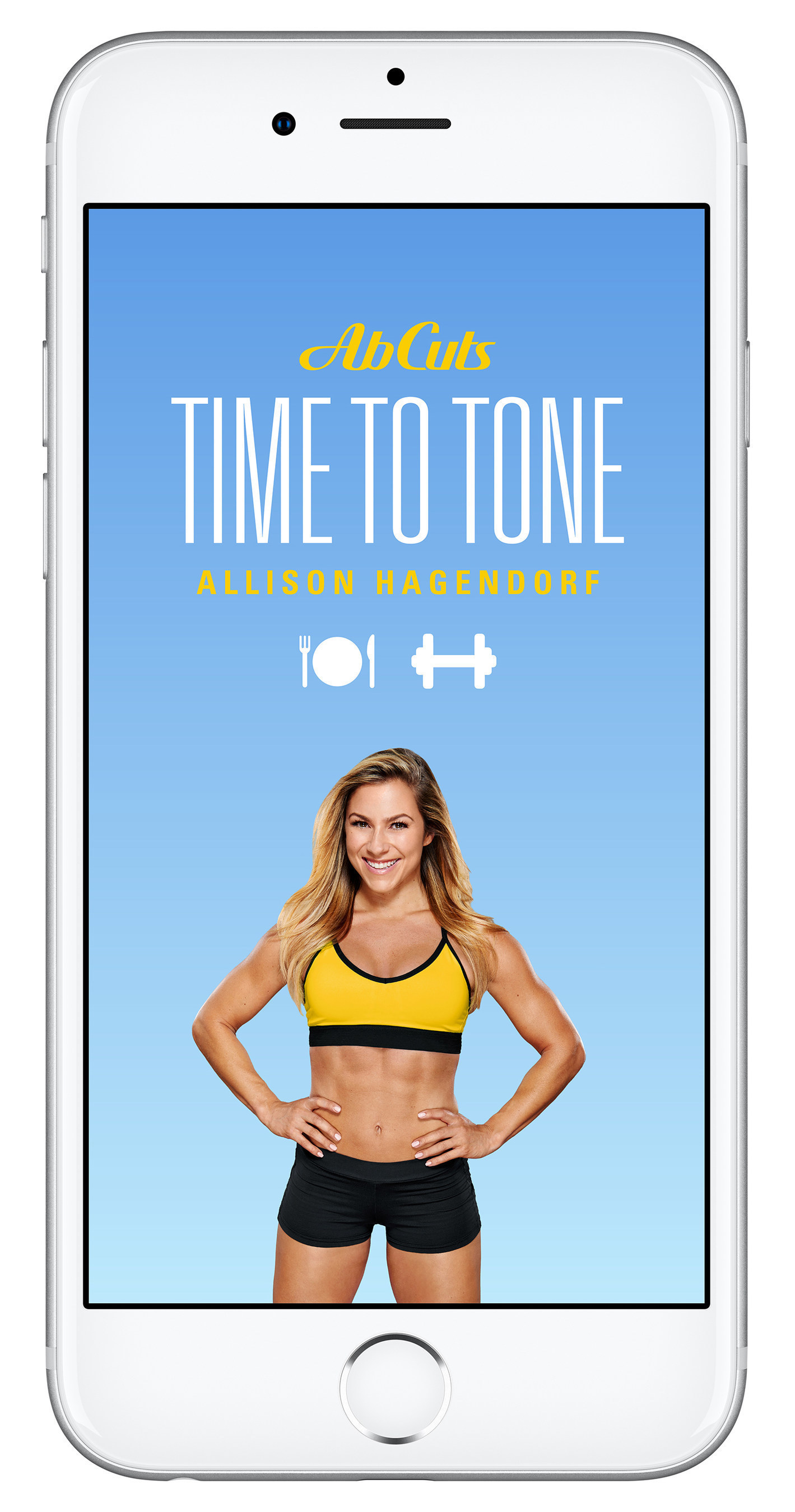 Anytime. Anywhere. It's 'Time to Tone' with New Health & Fitness App