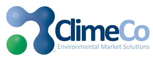 ClimeCo Corporation is a developer, broker and advisor of environmental commodity market products and air quality technology systems with specialized expertise in California cap-and-trade and voluntary market advisory and transactional services, and project financing of internal CO2 abatement systems. Deep-rooted partnerships with trading, investment and technology firms further amplify ClimeCo's service menu to provide collaborative, full-circle solutions that reduce emissions and fulfill environmental obligations. Contact us. http://www.climeco.com/. (PRNewsFoto/ClimeCo Corporation) (PRNewsFoto/CLIMECO CORPORATION)