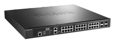 DXS-3400-24TC provides 10 gigabit performance and high-availability for business networks and data centers.